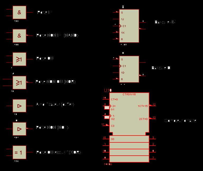 Electronique logique et num rique for Porte logique